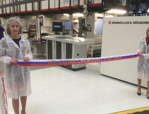 Chemosvit inaugurates new gravure press